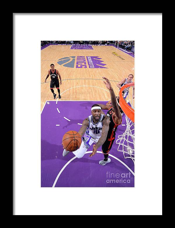 Nba Pro Basketball Framed Print featuring the photograph Ty Lawson by Rocky Widner