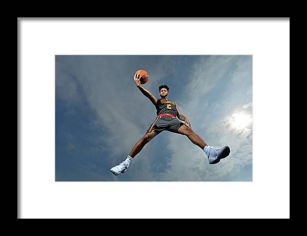Nba Pro Basketball Framed Print featuring the photograph Tyler Dorsey by Jesse D. Garrabrant
