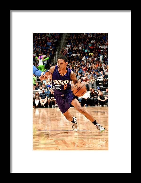 Nba Pro Basketball Framed Print featuring the photograph Tyler Ulis by Fernando Medina
