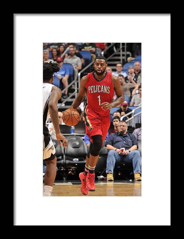 Nba Pro Basketball Framed Print featuring the photograph Tyreke Evans by Fernando Medina