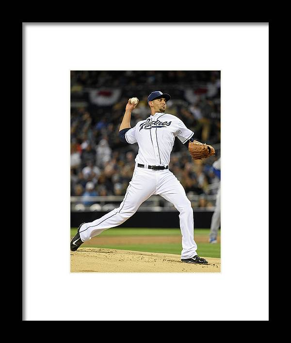 California Framed Print featuring the photograph Tyson Ross by Denis Poroy