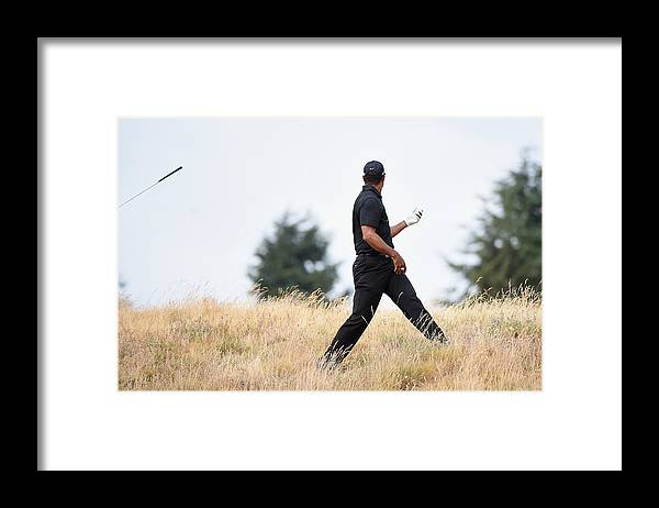 Uso Framed Print featuring the photograph U.S. Open - Round One by Harry How