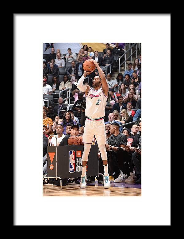 Event Framed Print featuring the photograph Wayne Ellington by Andrew D. Bernstein