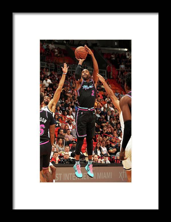 Nba Pro Basketball Framed Print featuring the photograph Wayne Ellington by Oscar Baldizon