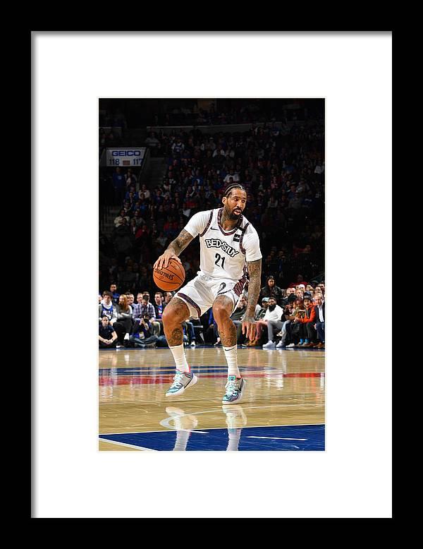 Nba Pro Basketball Framed Print featuring the photograph Wilson Chandler by Jesse D. Garrabrant