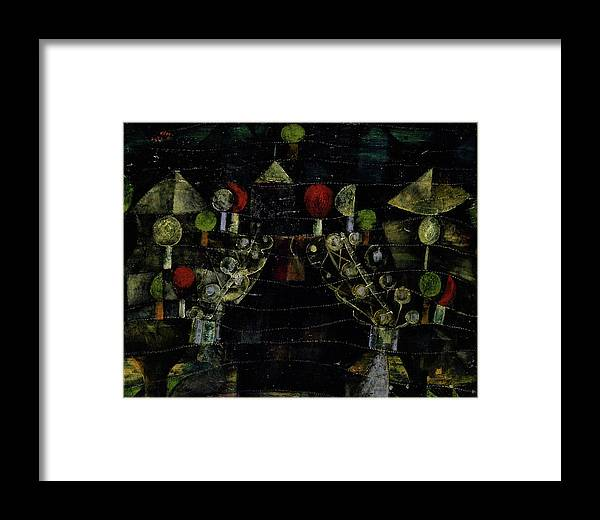 Paul Klee Framed Print featuring the painting Women's Pavilion by Paul Klee