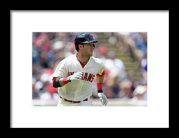 Second Inning Framed Print featuring the photograph Yan Gomes by Jason Miller