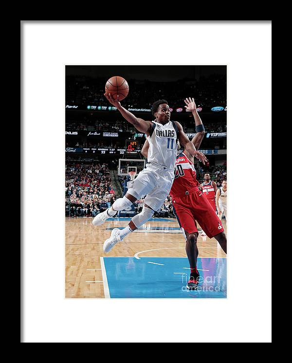 Nba Pro Basketball Framed Print featuring the photograph Yogi Ferrell by Glenn James