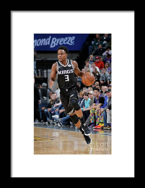 Nba Pro Basketball Framed Print featuring the photograph Yogi Ferrell by Rocky Widner