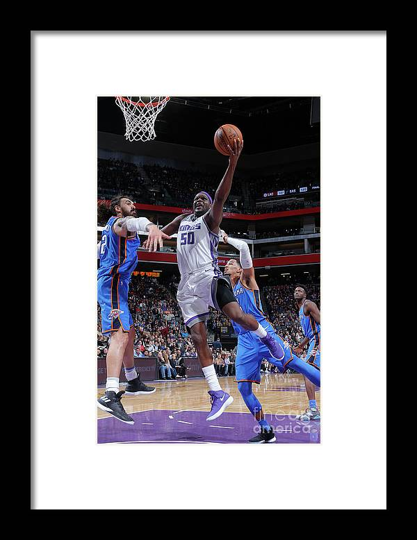 Nba Pro Basketball Framed Print featuring the photograph Zach Randolph by Rocky Widner