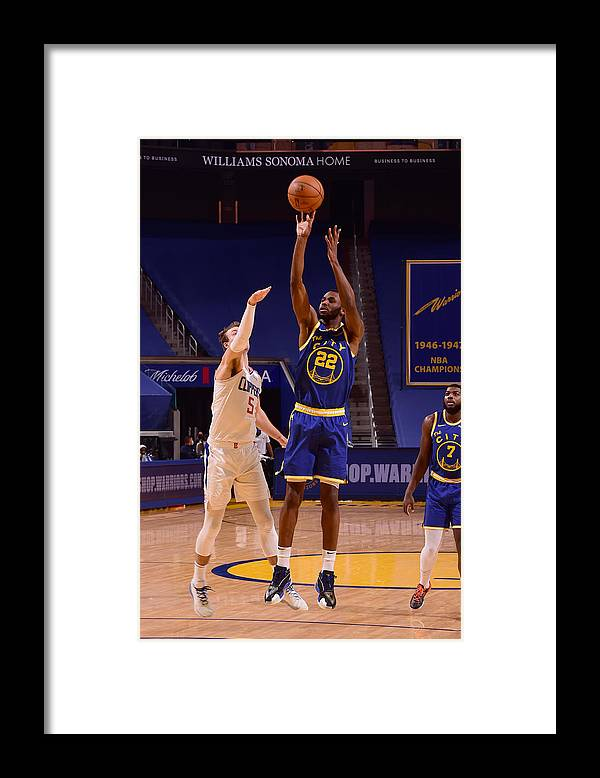 San Francisco Framed Print featuring the photograph Andrew Wiggins by Noah Graham