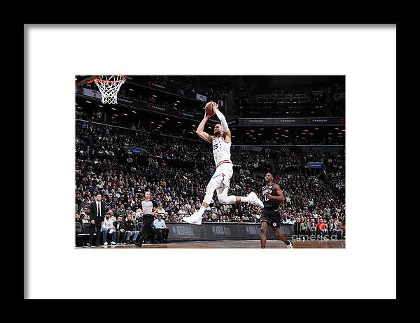 Playoffs Framed Print featuring the photograph Ben Simmons by Nathaniel S. Butler