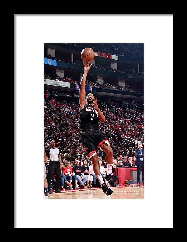 Playoffs Framed Print featuring the photograph Chris Paul by Bill Baptist
