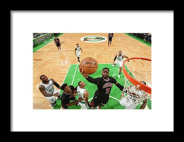 Playoffs Framed Print featuring the photograph Dwyane Wade by Jesse D. Garrabrant