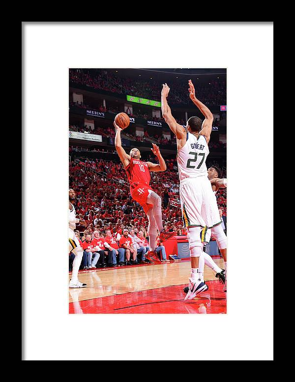Playoffs Framed Print featuring the photograph Eric Gordon by Bill Baptist