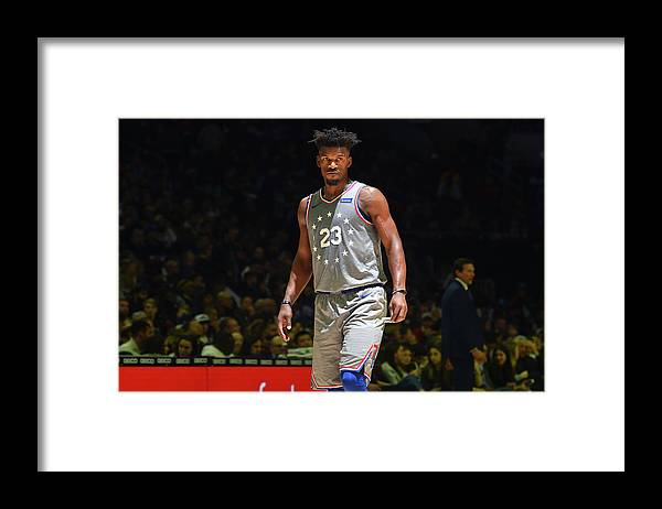 Nba Pro Basketball Framed Print featuring the photograph Jimmy Butler by Jesse D. Garrabrant