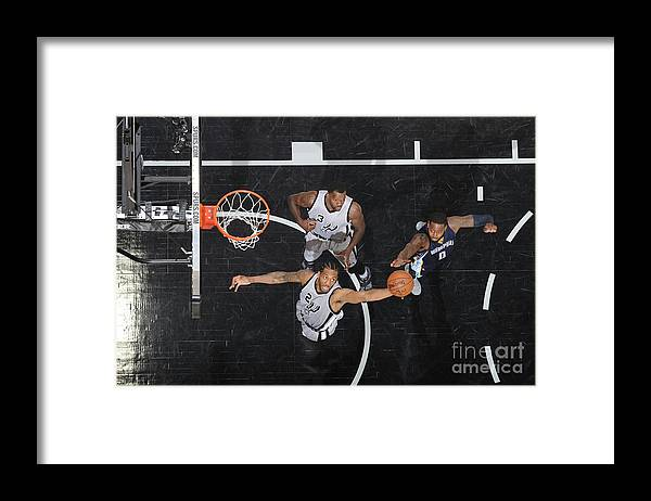 Playoffs Framed Print featuring the photograph Kawhi Leonard by Mark Sobhani