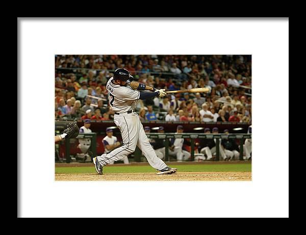 American League Baseball Framed Print featuring the photograph Matt Kemp by Christian Petersen