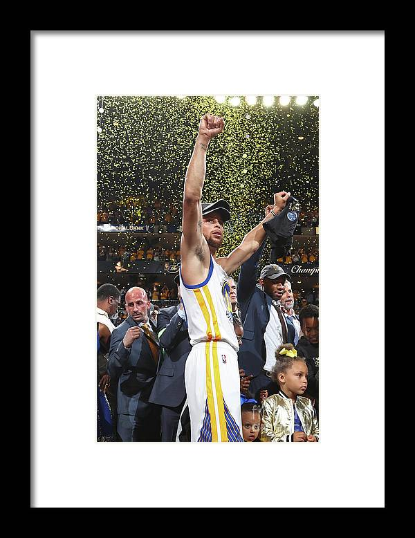 Playoffs Framed Print featuring the photograph Stephen Curry by Nathaniel S. Butler