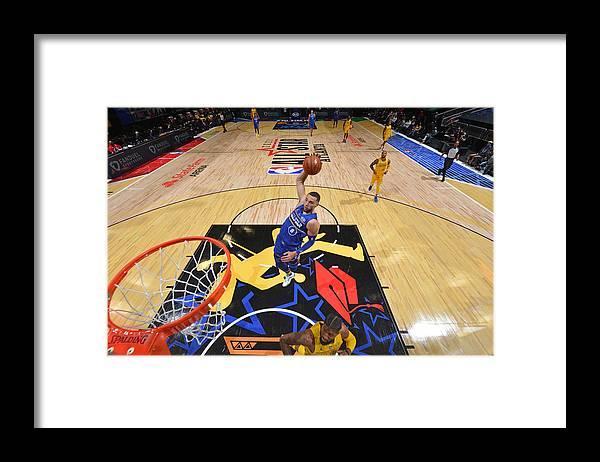 Atlanta Framed Print featuring the photograph Zach Lavine by Jesse D. Garrabrant