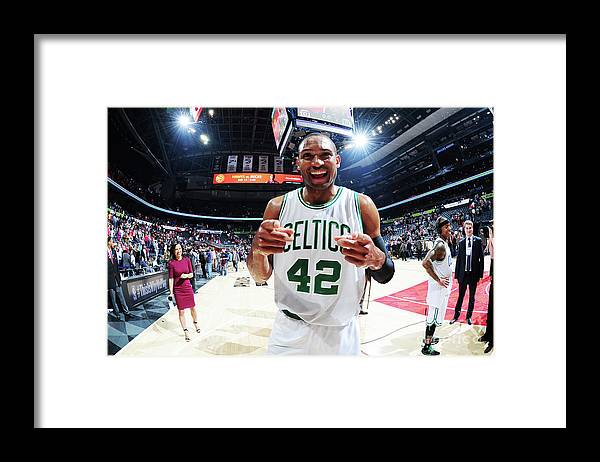 Atlanta Framed Print featuring the photograph Al Horford by Scott Cunningham