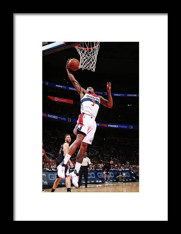 Nba Pro Basketball Framed Print featuring the photograph Bradley Beal by Ned Dishman