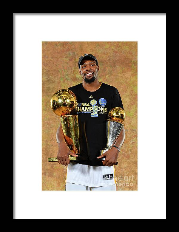 Playoffs Framed Print featuring the photograph Kevin Durant by Jesse D. Garrabrant