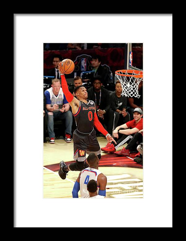 Event Framed Print featuring the photograph Russell Westbrook by Layne Murdoch