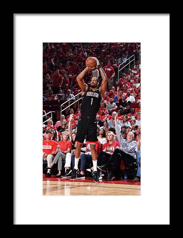 Playoffs Framed Print featuring the photograph Trevor Ariza by Bill Baptist