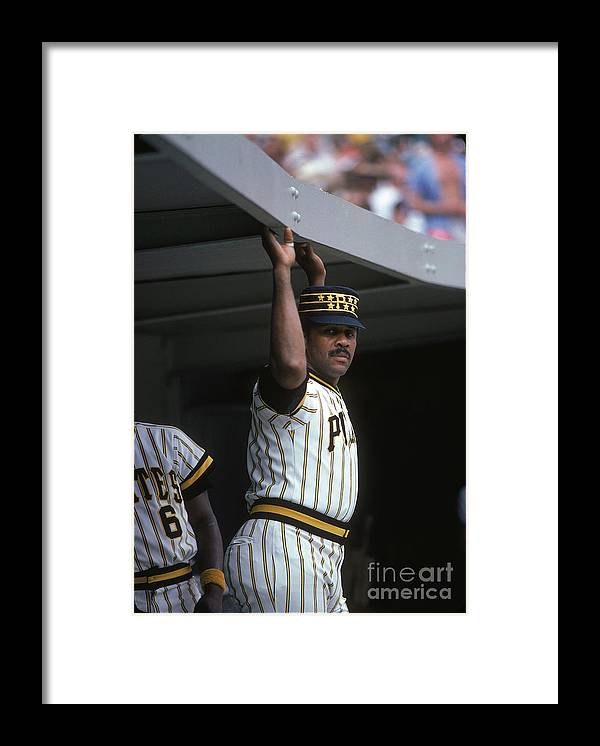 National League Baseball Framed Print featuring the photograph Willie Stargell by Rich Pilling