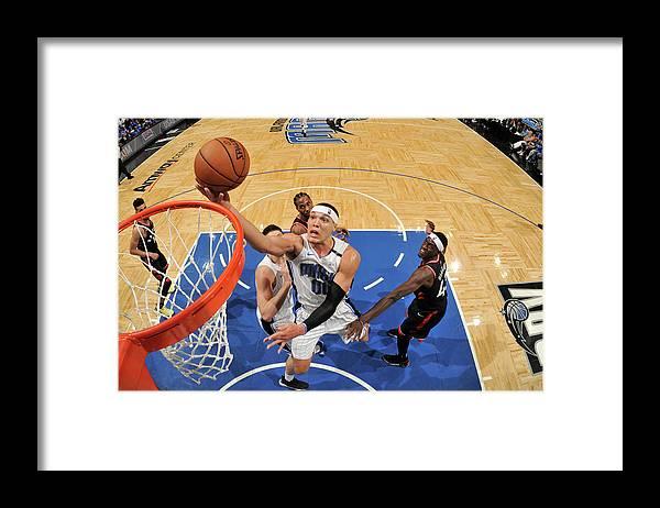 Playoffs Framed Print featuring the photograph Aaron Gordon by Fernando Medina