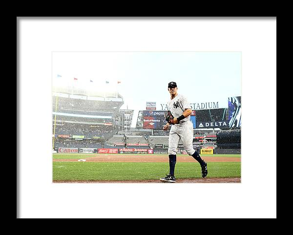 People Framed Print featuring the photograph Aaron Judge by Elsa