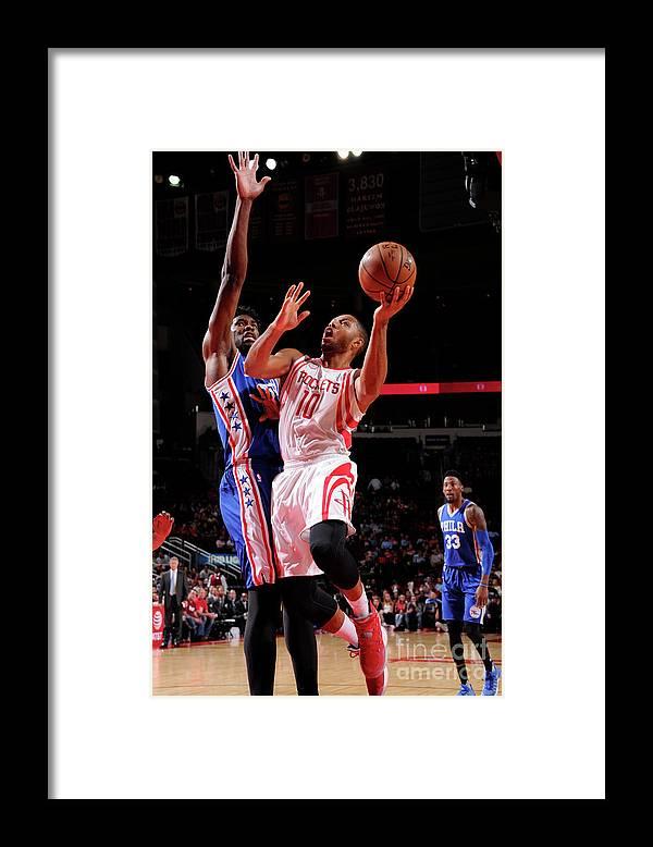 Nba Pro Basketball Framed Print featuring the photograph Eric Gordon by Bill Baptist