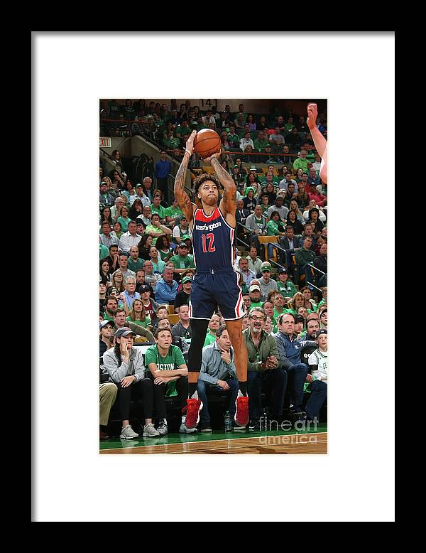 Playoffs Framed Print featuring the photograph Kelly Oubre by Ned Dishman