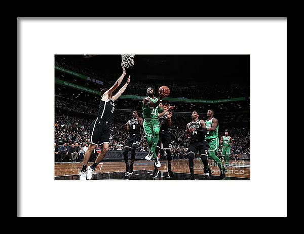 Nba Pro Basketball Framed Print featuring the photograph Kyrie Irving by Nathaniel S. Butler