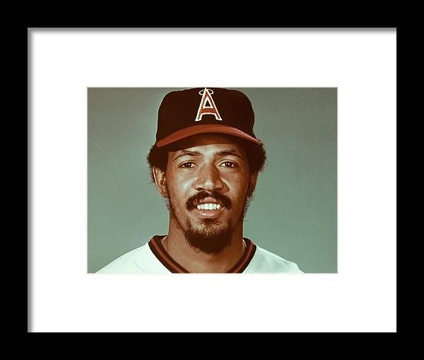 American League Baseball Framed Print featuring the photograph MLB Photos Archive by MLB Photos