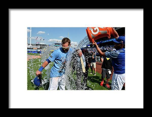 Salvador Perez Diaz Framed Print featuring the photograph Salvador Perez by Ed Zurga
