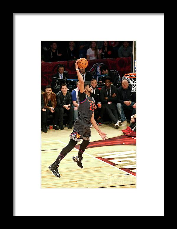 Event Framed Print featuring the photograph Anthony Davis by Layne Murdoch