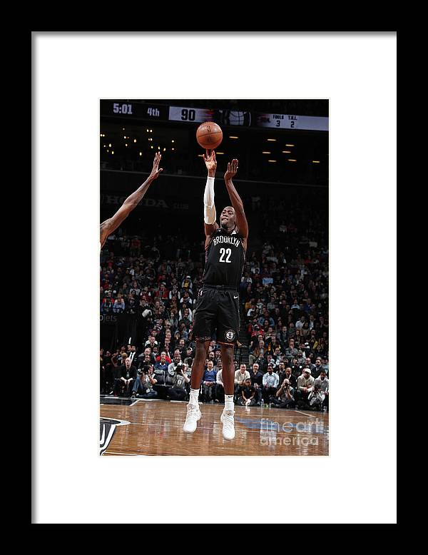 Nba Pro Basketball Framed Print featuring the photograph Caris Levert by Nathaniel S. Butler