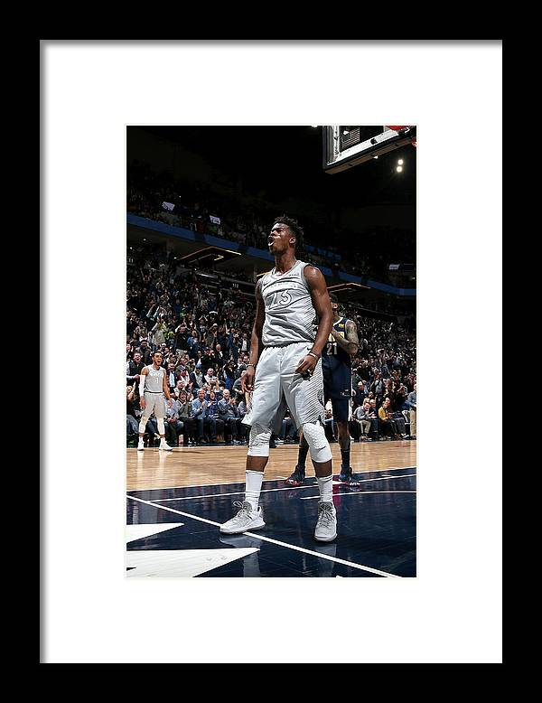 Nba Pro Basketball Framed Print featuring the photograph Jimmy Butler by David Sherman
