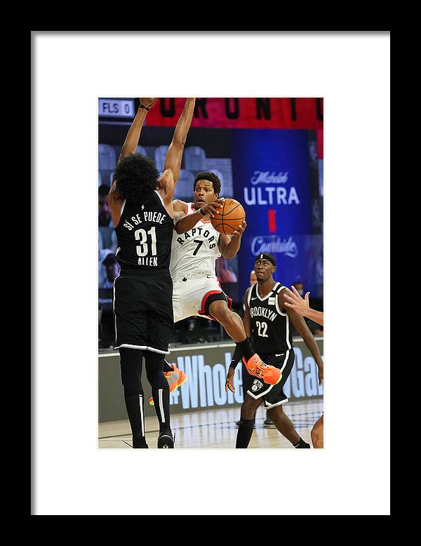 Playoffs Framed Print featuring the photograph Kyle Lowry by Jesse D. Garrabrant