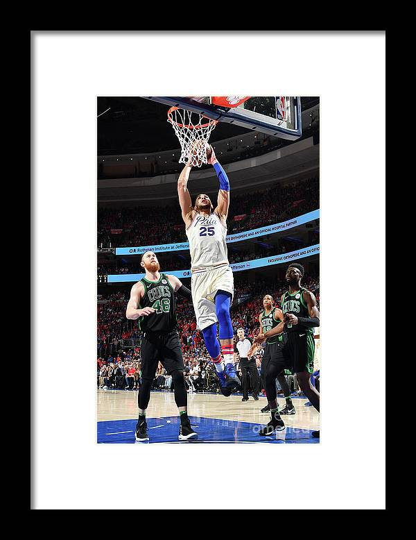 Playoffs Framed Print featuring the photograph Ben Simmons by Jesse D. Garrabrant