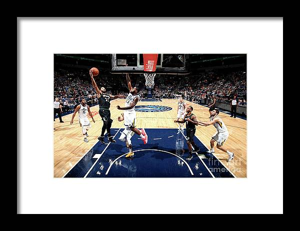 Nba Pro Basketball Framed Print featuring the photograph Derrick Rose by David Sherman