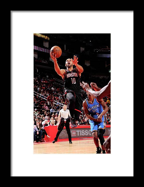 Nba Pro Basketball Framed Print featuring the photograph Eric Gordon by Bill Baptist