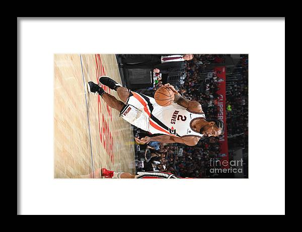 Nba Pro Basketball Framed Print featuring the photograph Kawhi Leonard by Andrew D. Bernstein