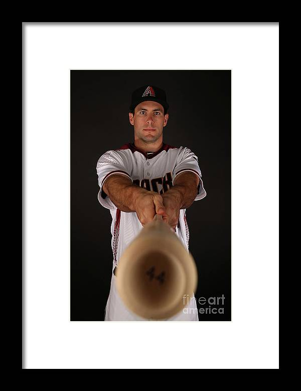 Media Day Framed Print featuring the photograph Paul Goldschmidt by Christian Petersen
