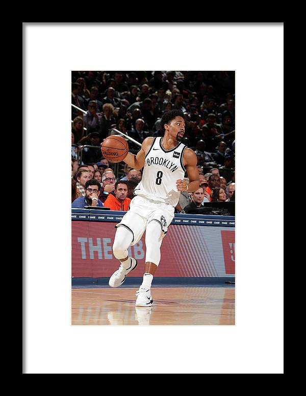 Nba Pro Basketball Framed Print featuring the photograph Spencer Dinwiddie by Nathaniel S. Butler