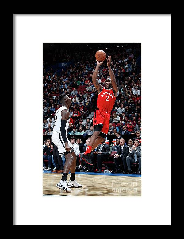 Nba Pro Basketball Framed Print featuring the photograph Kawhi Leonard by Mark Blinch