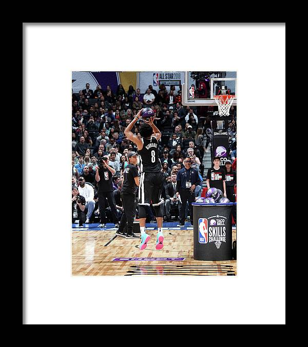 Event Framed Print featuring the photograph Spencer Dinwiddie by Nathaniel S. Butler