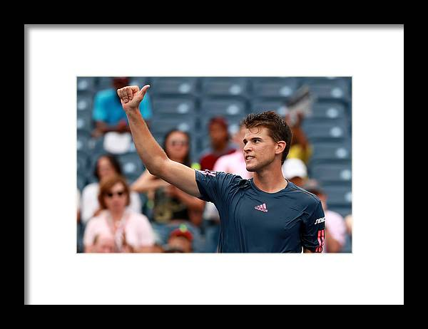 Tennis Framed Print featuring the photograph 2016 US Open - Day 4 by Michael Reaves
